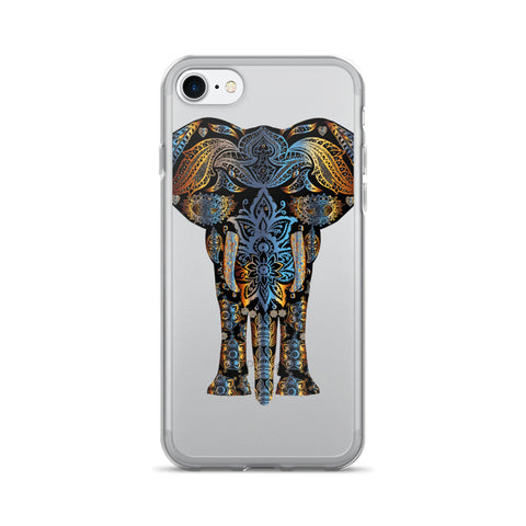 Trippy Elephant - iPhone 7/7 Plus Case - Got No Restraints