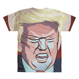 Constipated Trump All-Over Printed T-Shirt - Got No Restraints