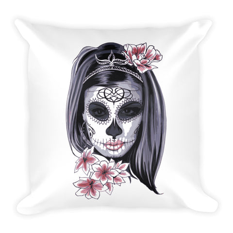 The Beauty Within Square Pillow - Got No Restraints