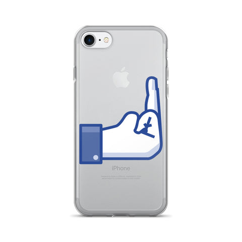 Facebook F*ck You - iPhone 7/7 Plus Case - Got No Restraints