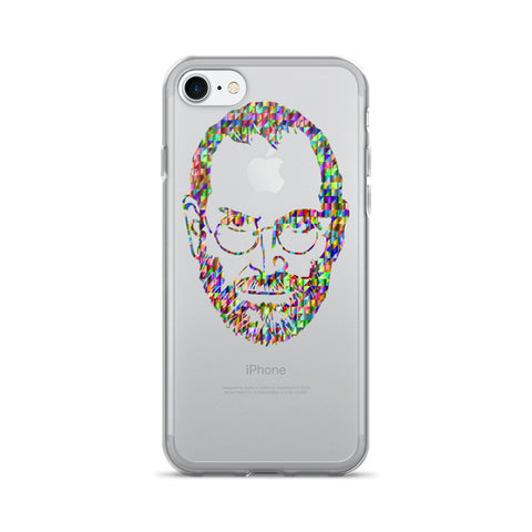 Psychedelic Steve Jobs - iPhone 7/7 Plus Case - Got No Restraints