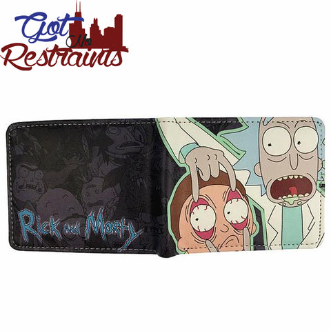 Rick and Morty Wallet - Got No Restraints