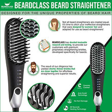 Premium Beard Straightener Heated Brush