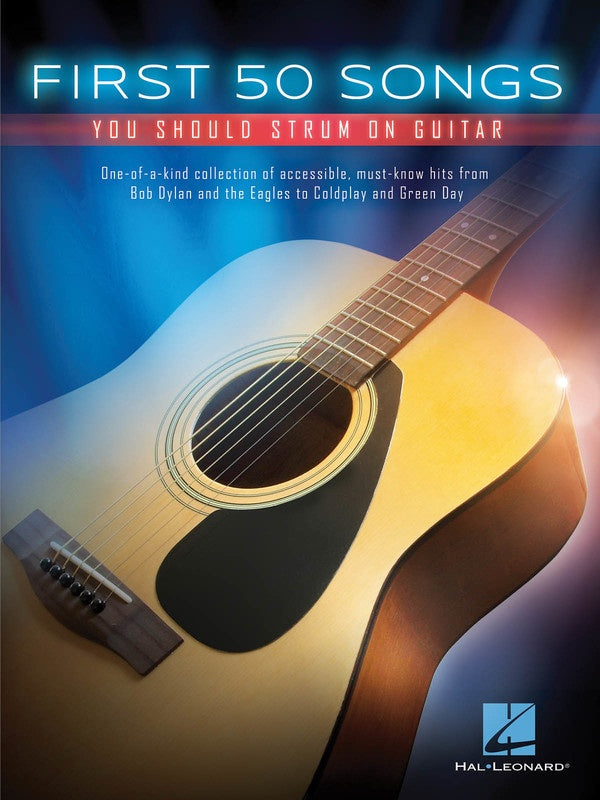 First 50 Songs You Should Strum On Guitar - My Music Books