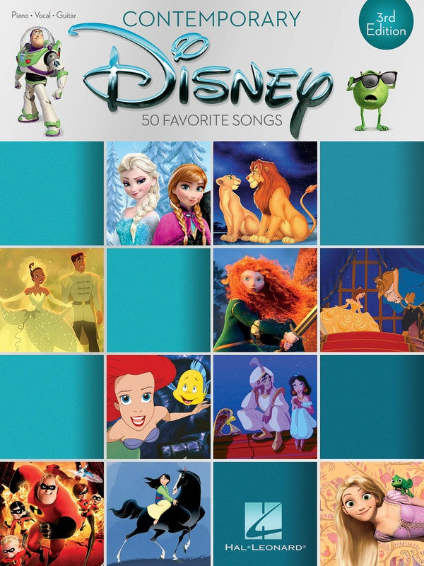 Contemporary Disney 50 Favorite Songs 3Rd Edition - My Music Books