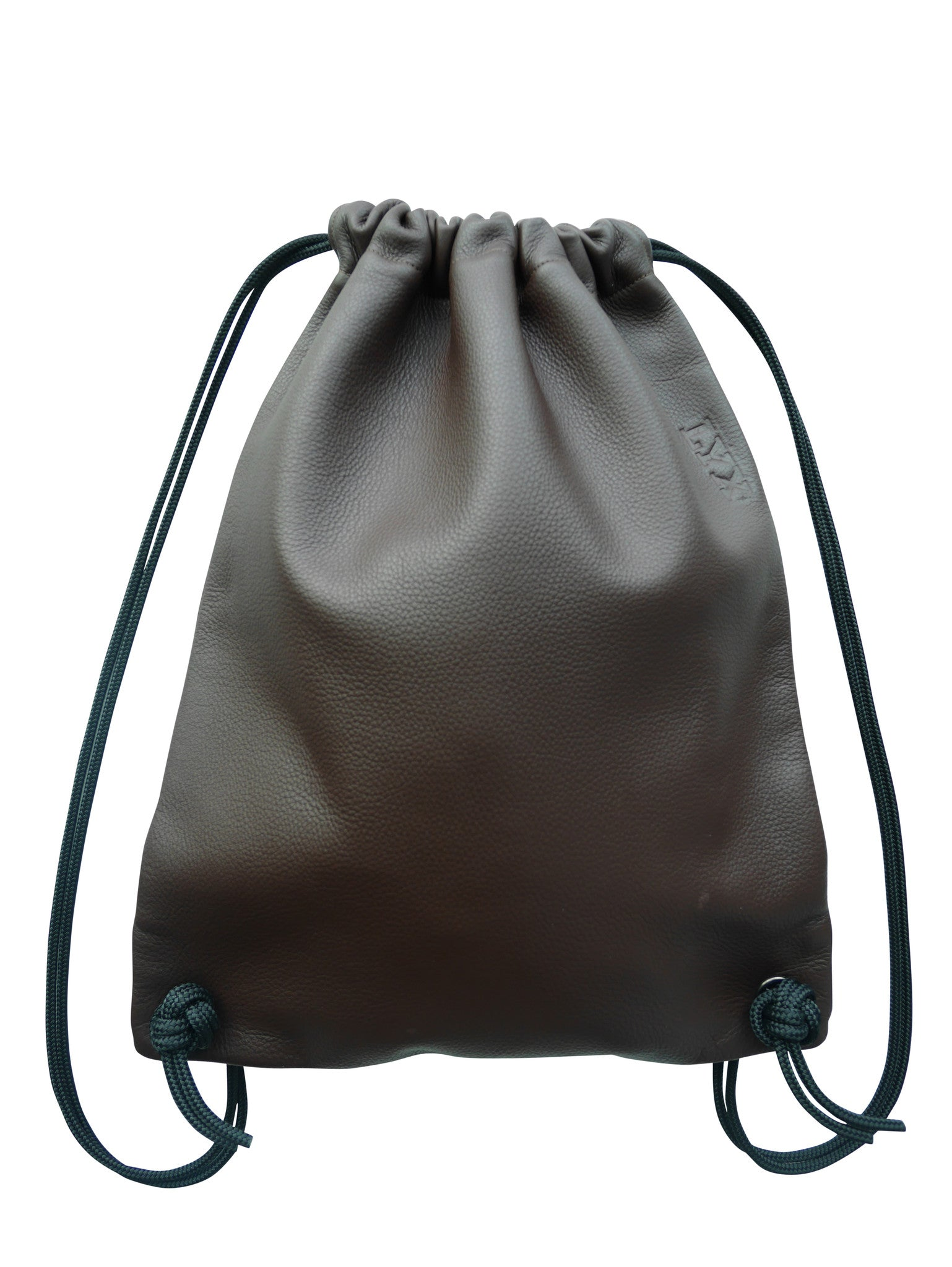 5d437295676 Oysterman drawstring bag in brown - LYX leather
