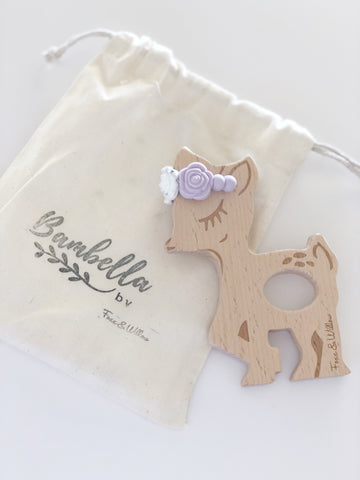 Bambella Teether Lavender