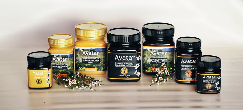 Avatar-Manuka-Honey-Range