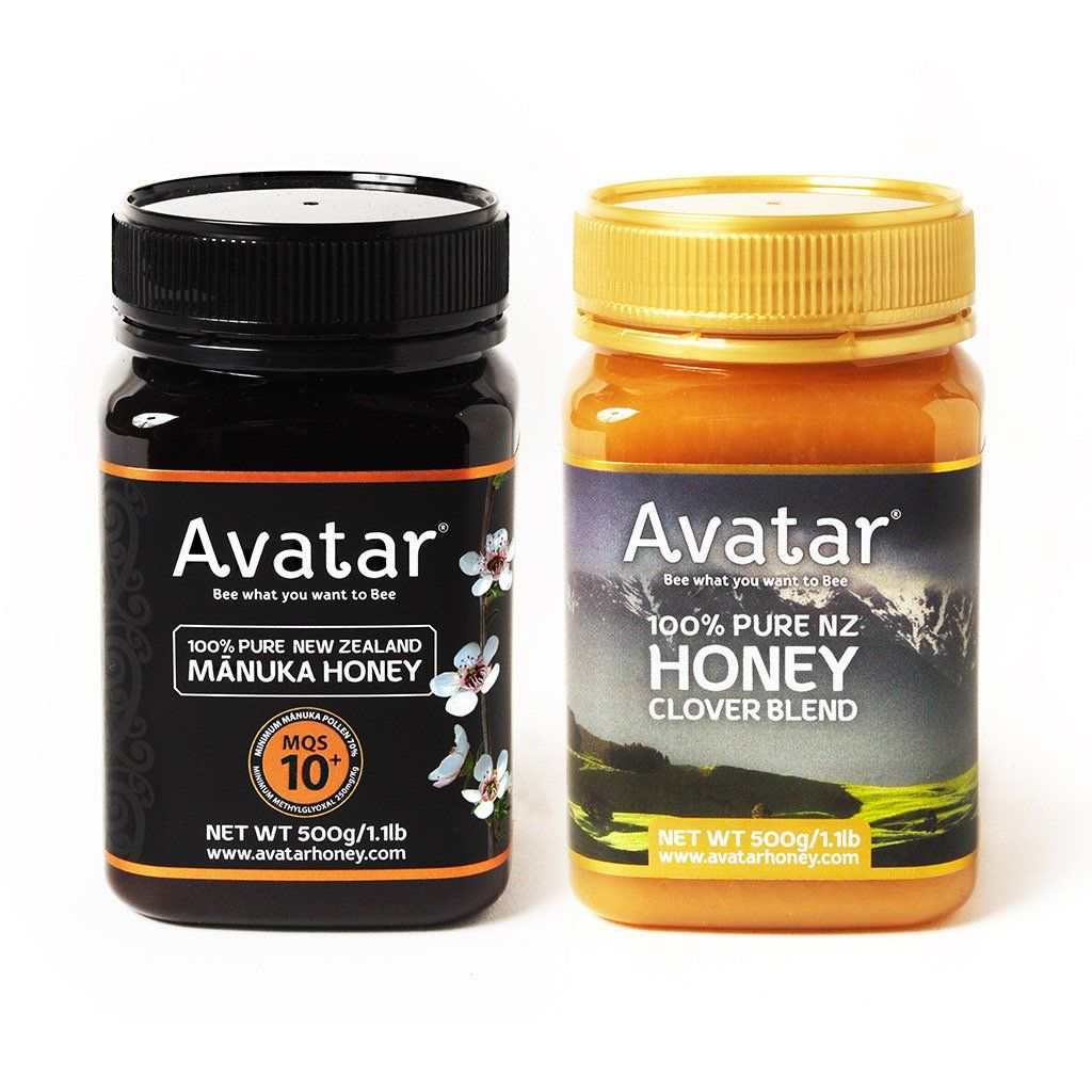 Clover Blend and Manuka Honey 10+ Combo Deal 1 Combo Deal Avatar Honey NZ
