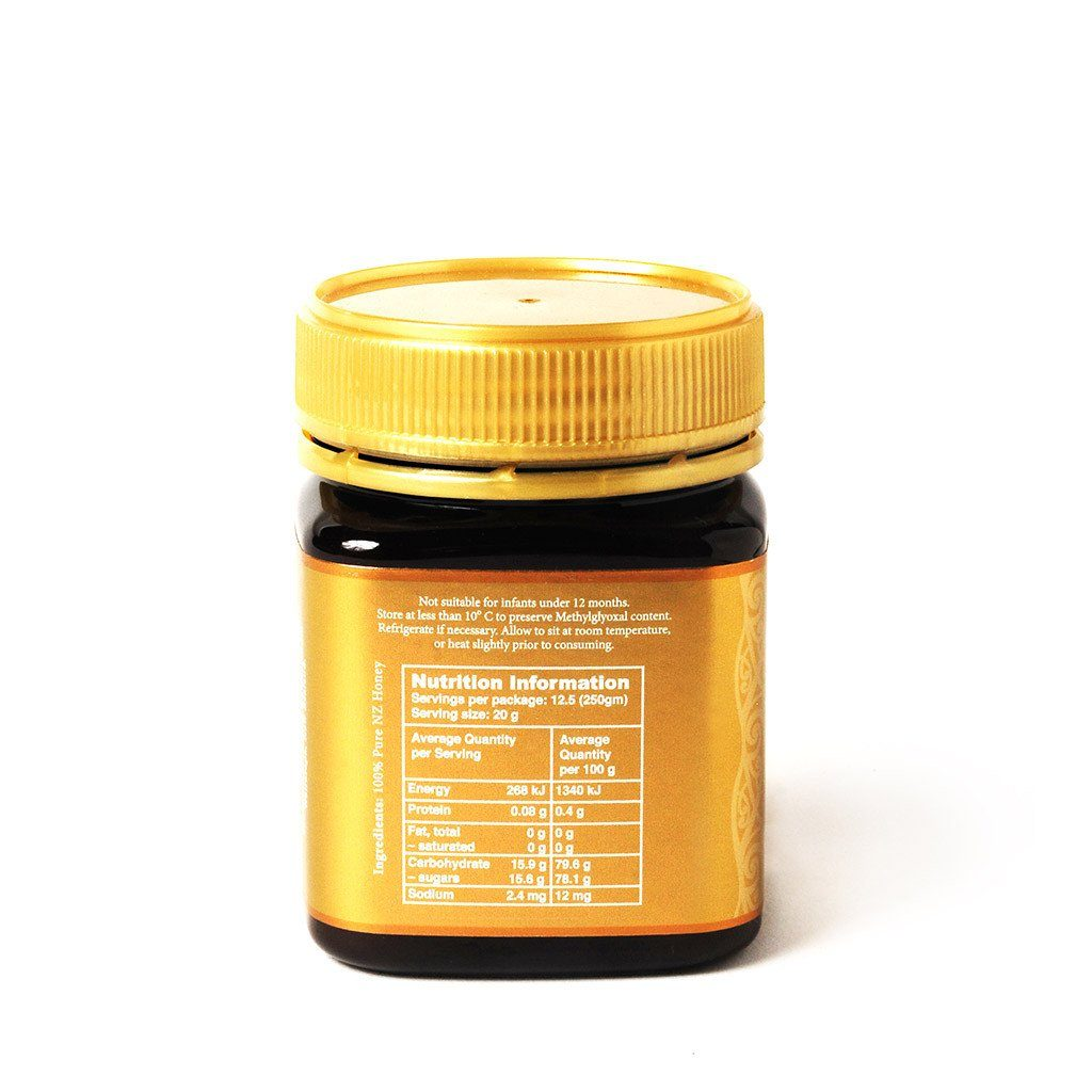 Manuka Honey 18+ Ultra Premium Gold Label New Zealand Manuka Honey. Lab Certified 700 MGO, 80% Manuka Pollen Count minimum Manuka Honey Avatar Honey NZ