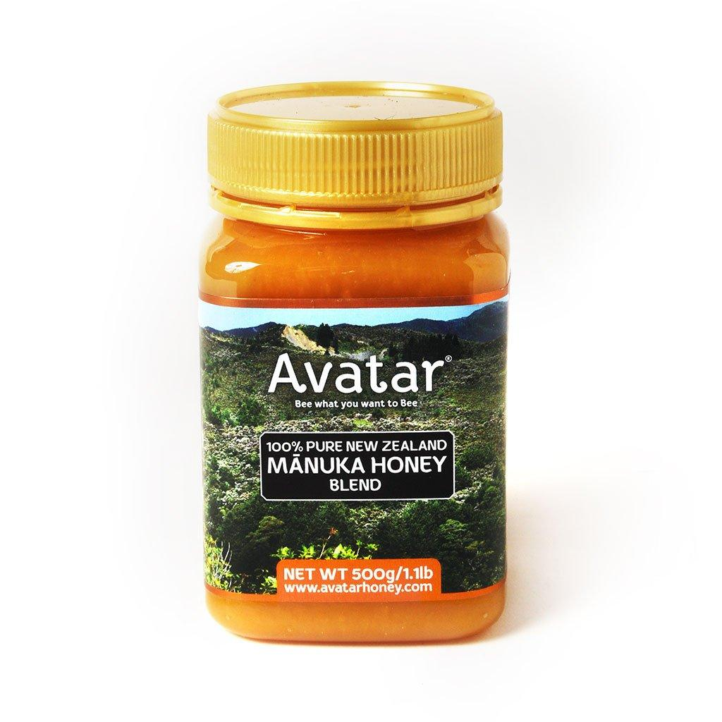 Manuka Honey Blend MGO 30+ with Kanuka honey 100% Pure New Zealand by Avatar - 500g Manuka Honey Blend Avatar Honey NZ