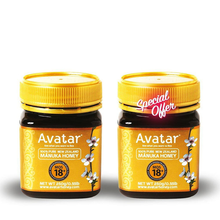 Stunner Deal! Gold Label Manuka Honey 18+ Combo Manuka Honey Avatar Honey NZ