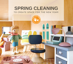 Making Space for a New Year with a Spring Cleaning Sale!