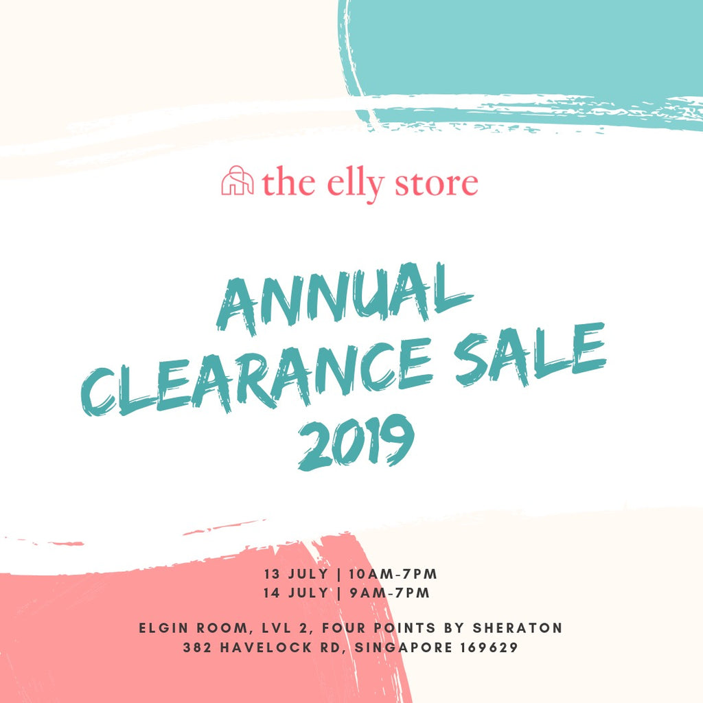 We're Popping Up at The Elly Store's Annual Clearance Sale!