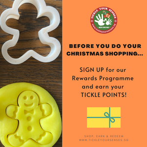 Earn Tickle Points as you shop with us!