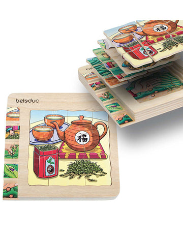 Beleduc 5-in-1 Puzzle Tea