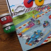 """Transportation"" Playdough Book Kit"