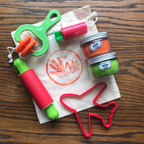 Limited Edition TYS Travel Playdough Kit
