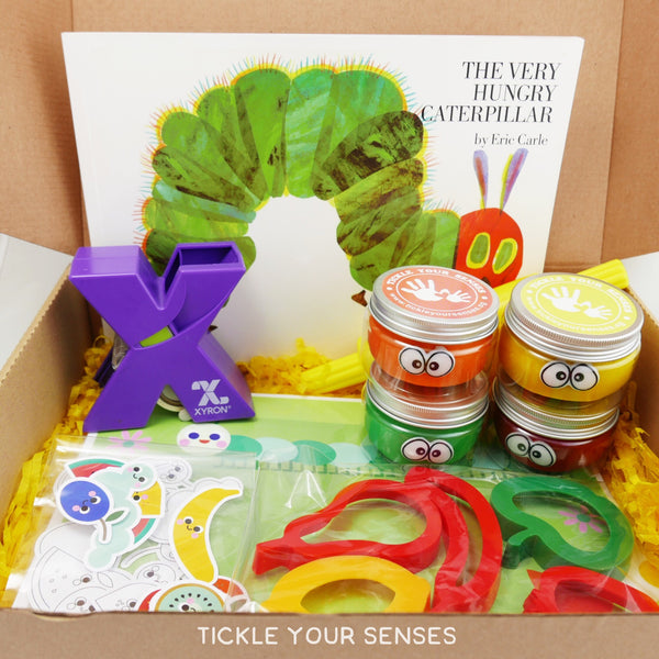 """The Very Hungry Caterpillar"" Sensory Play Book Kit"