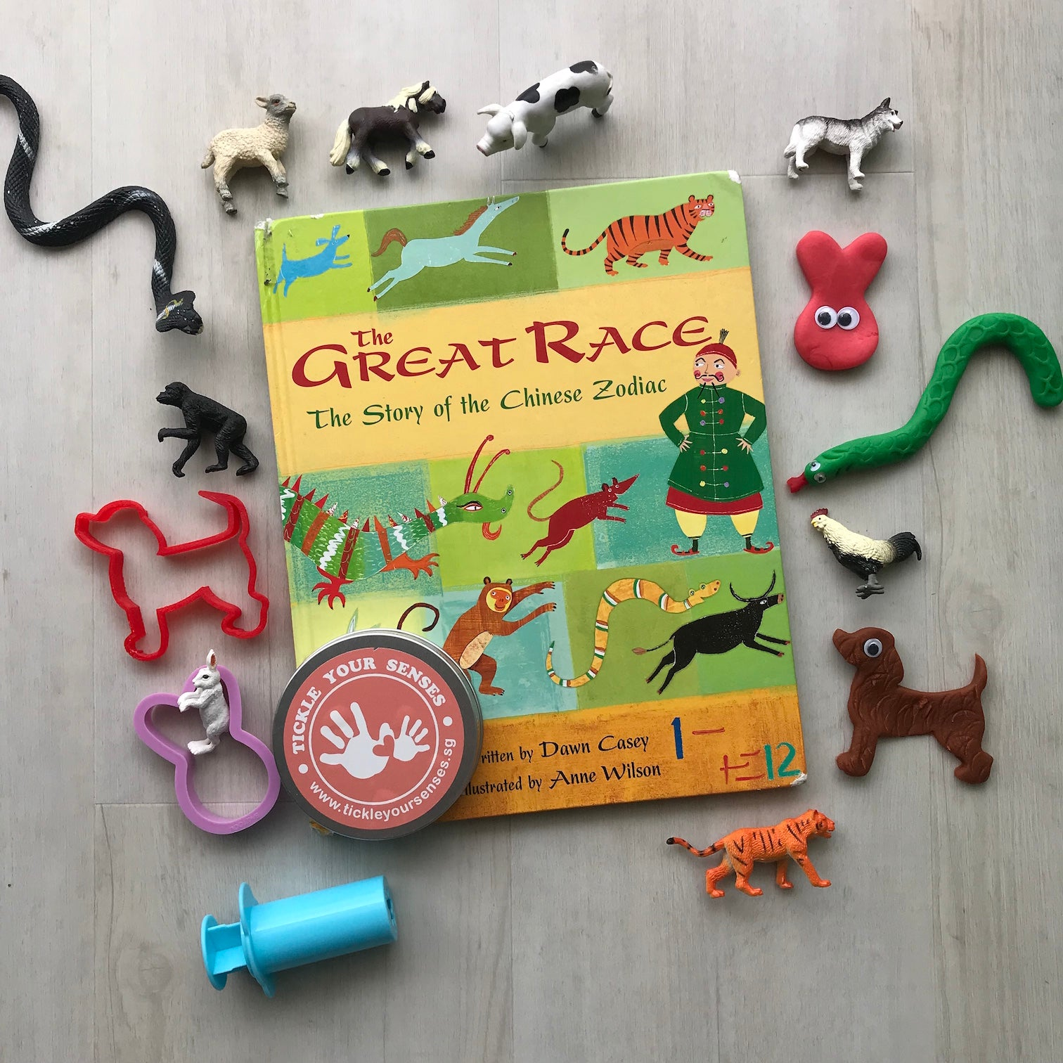 "CNY Storytime at the Playfair - ""The Great Race"""