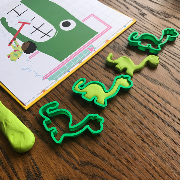 """If I Had A Dinosaur"" Playdough Kit"
