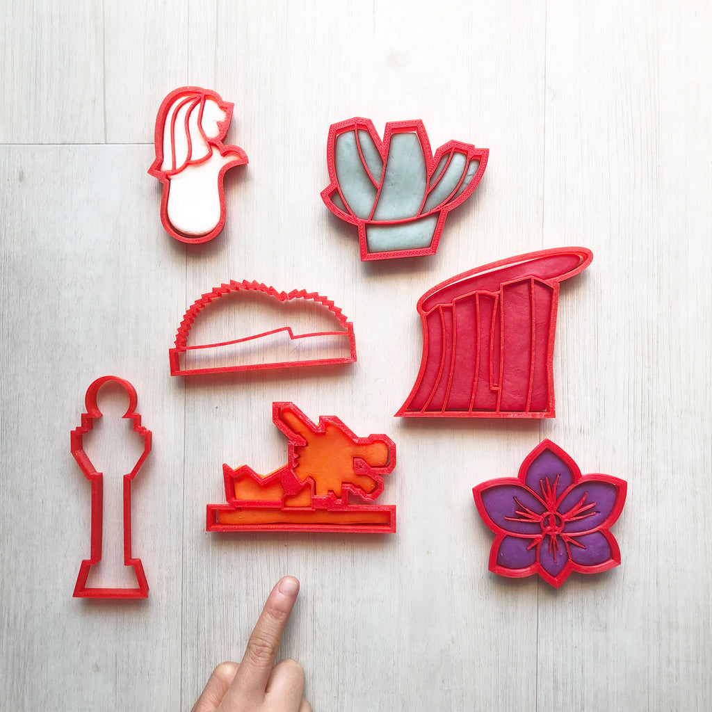 Singapore Heritage Playdough Cutters Collection Version 2.0
