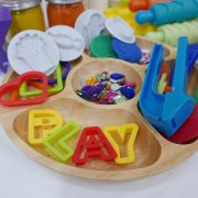 Wooden Sensory Play Plate
