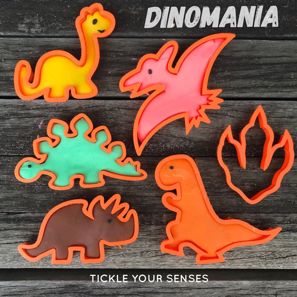 Dinosaur Playdough Cutters