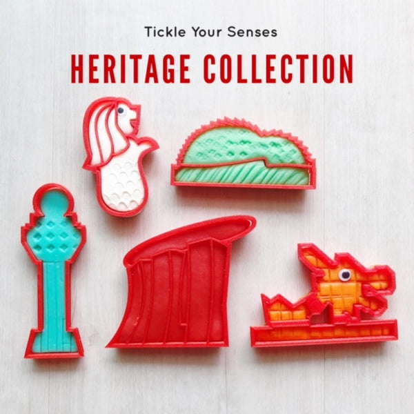 Singapore Heritage Playdough Cutters Collection