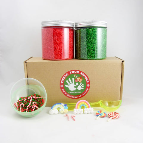 Christmas Rice Candyland Kit