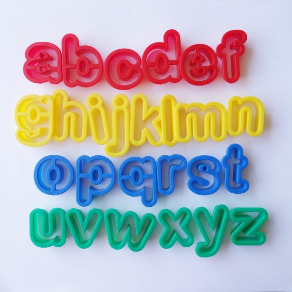 Lowercase Alphabet Cutters