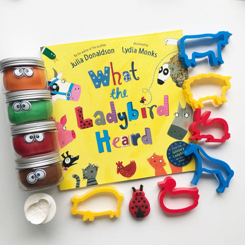 What the Ladybird Heard Playdough Book Kit