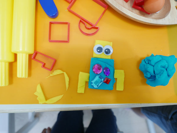 Boy + Bot Playdough Book Kit