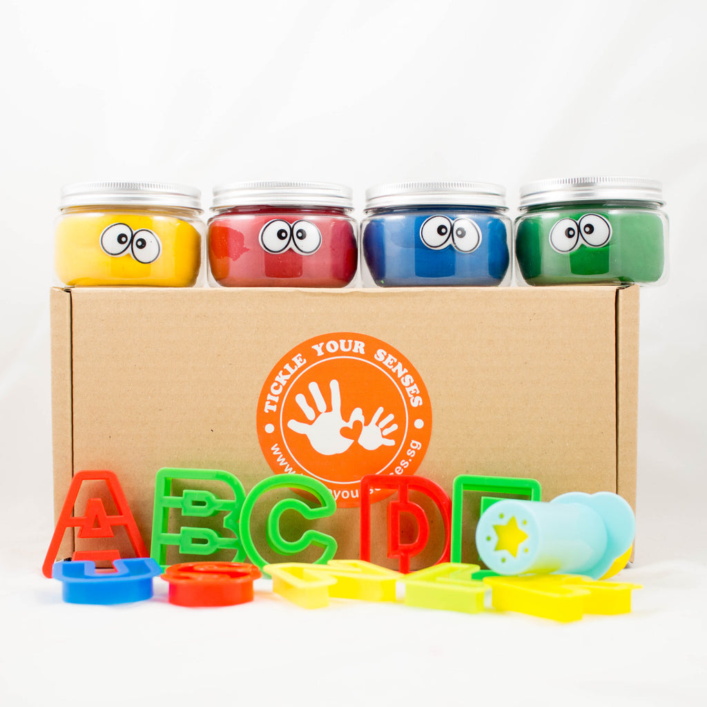 Alphabet Playdough Kit