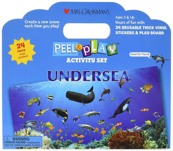 UNDERSEA PEEL & PLAY SET
