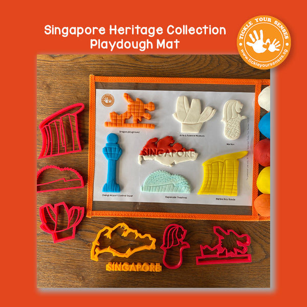 Heritage Collection Playdough Mat Printable