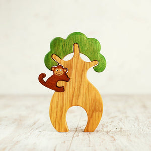 African Tree with Monkey *hot favourite*