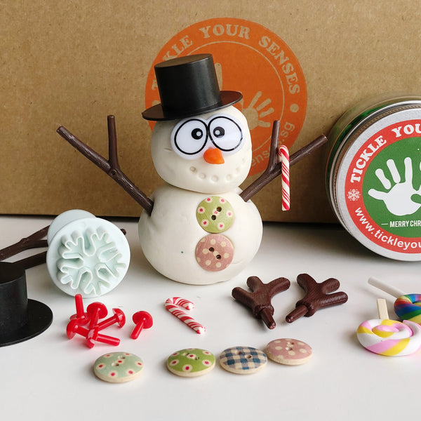 Build-A-Snowman+ Reindeer Playdough Kit- Best Seller for Christmas!