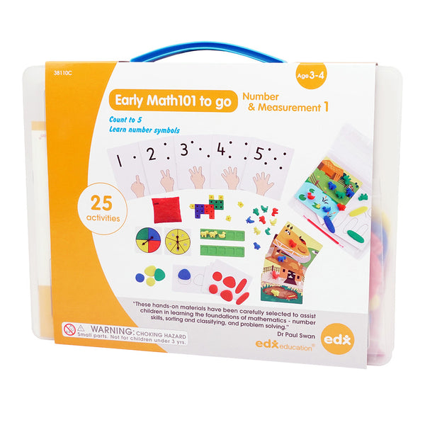 Early Math 101 Number & Measurement Level 1 Set