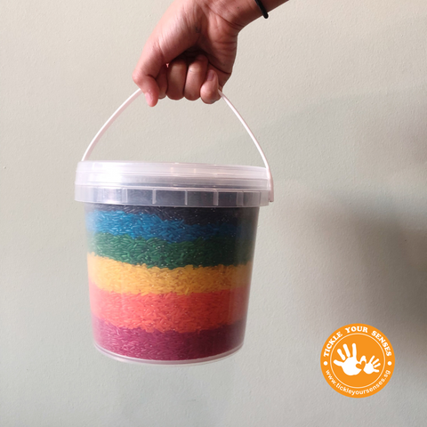 Jumbo Rainbow Rice Bucket