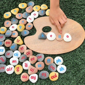 Phonics Pebbles (full set of 64)
