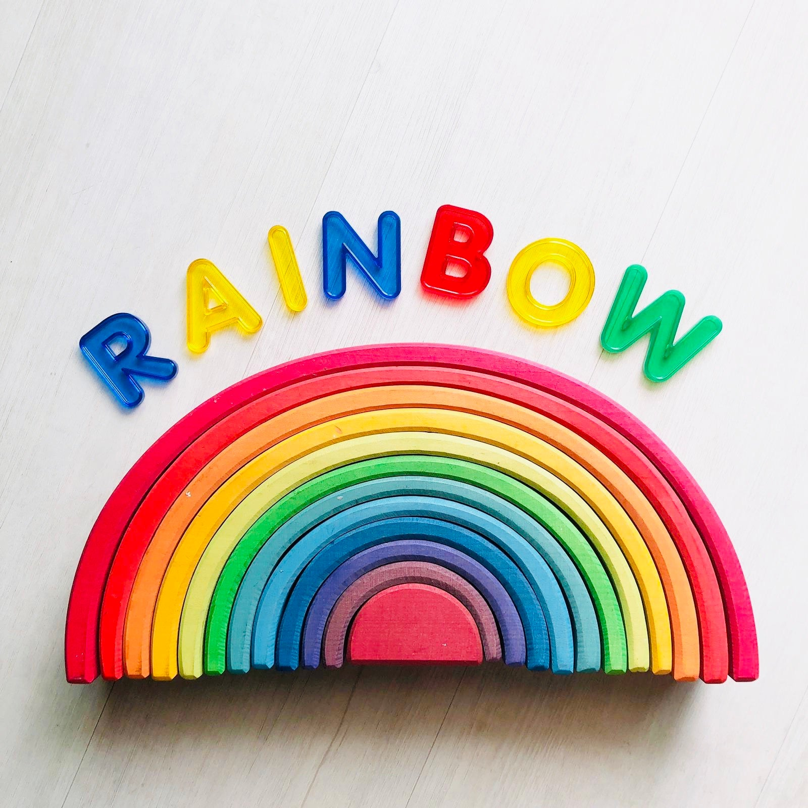 Grimms 12 piece Large Rainbow (Classic, Best Seller) *in stock*