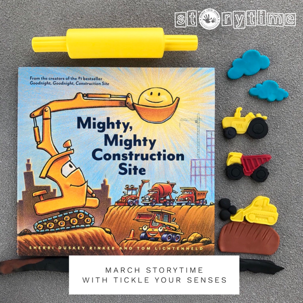 MARCH Storytime at Liliewoods Social - 'Mighty Mighty Construction Site""