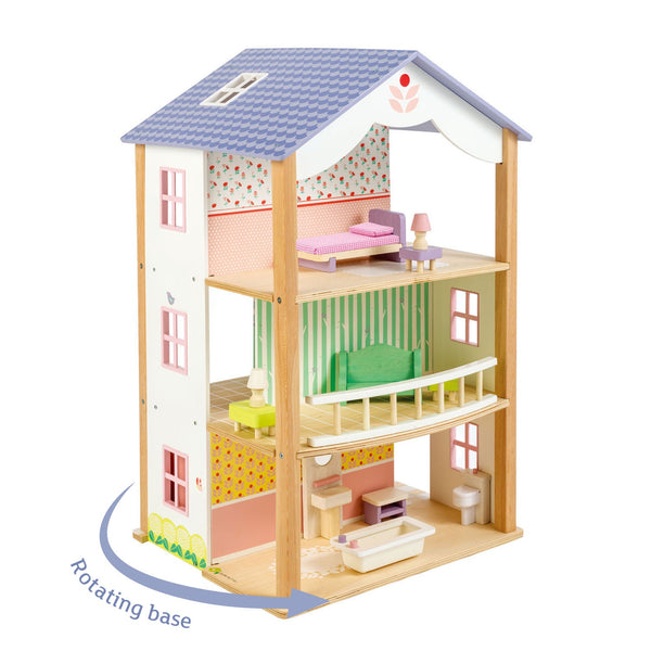 Bluebird Villa w/ accessories (on a swivel base) [Pre-order]