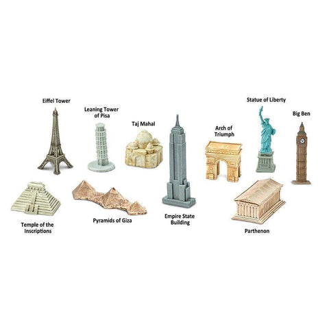 Around the World Toob *10 famous landmarks*