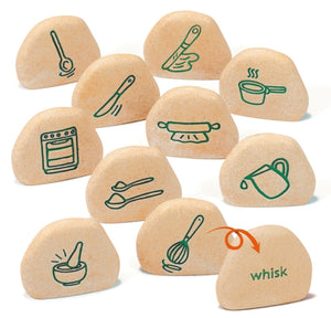 Kitchen Process Stones (Set of 10, Double sided)