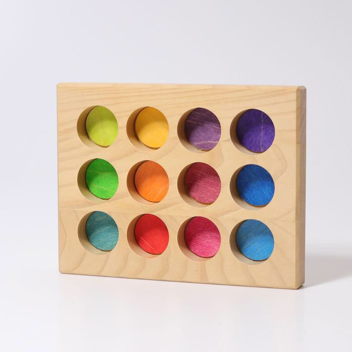 Grimms Sorting Board (Bright Rainbow)