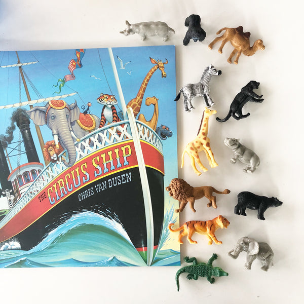 """The Circus Ship"" Waterbeads Book Kit"