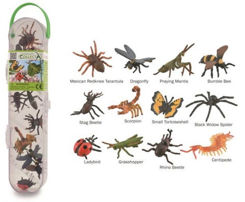 PRE-ORDER CollectA Box of Mini Insects & Spiders (*new) *ETA july*
