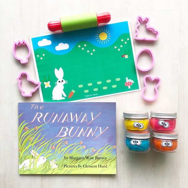 The Runaway Bunny Playdough Book Kit